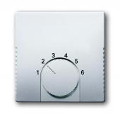 Плата центральная (накладка) для механизма терморегулятора (термостата) 1094 U, 1097 U, серия pur/сталь 1794-866