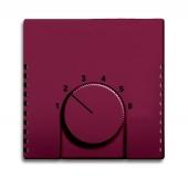 Плата центральная (накладка) для механизма терморегулятора (термостата) 1094 U, 1097 U, серия solo/future, цвет toscana/красный 1794-87