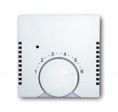 Накладка (центральная плата) для терморегулятора 1094 U, 1097 U, Basic 55, альпийский белый 1794-94-507