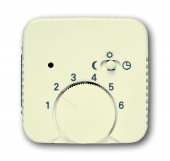 Плата центральная (накладка) для механизма терморегулятора (термостата) 1095 U, 1096 U Busch-Duro 2000 SI слоновая кость 1795-212