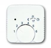 Плата центральная (накладка) для механизма терморегулятора (термостата) 1095 U, 1096 U, серия Reflex SI/SI linear, альпийский белый 1795-214