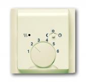 Плата центральная (накладка) для механизма терморегулятора (термостата) 1095 U, 1096 U, серия impuls, цвет слоновая кость 1795-72