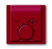 Плата центральная (накладка) для механизма терморегулятора (термостата) 1095 U, 1096 U, серия impuls, цвет бордо/ежевика 1795-777