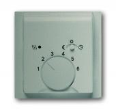 Плата центральная (накладка) для механизма терморегулятора (термостата) 1095 U, 1096 U, серия impuls, цвет шампань-металлик 1795-79