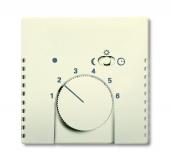 Плата центральная (накладка) для механизма терморегулятора (термостата) 1095 U, 1096 U, серия solo/future, цвет savanne/слоновая кость 1795-82