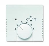 Плата центральная (накладка) для механизма терморегулятора (термостата) 1095 U, 1096 U, серия solo/future, цвет davos/альпийский белый 1795-84