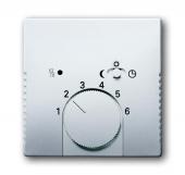 Плата центральная (накладка) для механизма терморегулятора (термостата) 1095 U, 1096 U, серия pur/сталь 1795-866