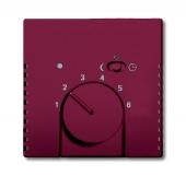 Плата центральная (накладка) для механизма терморегулятора (термостата) 1095 U, 1096 U, серия solo/future, цвет toscana/красный 1795-87