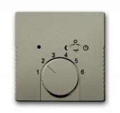 Плата центральная (накладка) для терморегулятора 1095 U/UF-507, 1096 U, серия Basic 55, цвет шампань 1795-93-507