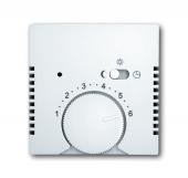 Накладка (центральная плата) для терморегулятора 1095 U/UF-507, 1096 U, Basic 55, альпийский белый 1795-94-507