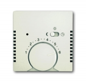 Плата центральная (накладка) для терморегулятора 1095 U/UF-507, 1096 U, серия Basic 55, цвет chalet-white 1795-96-507