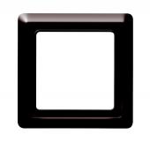 Рамка 1-постовая, серия Allwetter 44, цвет коричневый 2101-31