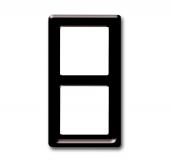 Рамка 2-постовая, серия Allwetter 44, цвет коричневый 2102-31
