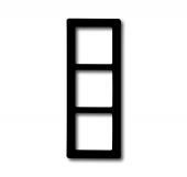 Рамка 3-постовая, серия Allwetter 44, цвет антрацит 2103-35