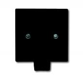 Плата центральная с суппортом, с выводом для кабеля (до 5 х 2.5 мм), с компенсатором натяжения, IP44, серия Allwetter 44, цвет чёрны 2133-35