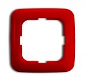 Рамка 1-п.,ReflexSI,красная 2511-217