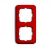 Рамка 2-п.,ReflexSI,красная 2512-217