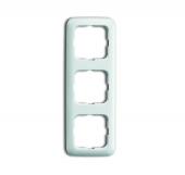 Рамка 3-постовая, серия Reflex SI, цвет альпийский белый 2513-214