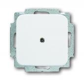 Заглушка с суппортом, серия Reflex SI, цвет альпийский белый 2538-214