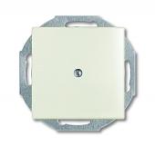 Заглушка с суппортом, серия Basic 55, цвет chalet-white 2538-96-507