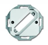 Плата центральная (накладка) для разъёмов D-Sub на 25-полюсов, серия Reflex SI, цвет альпийский белый 2549-214
