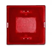 Линза красная для светового сигнализатора (IP44), серия Allwetter 44 2664-12-101