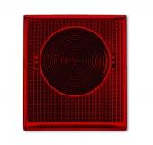 Линза красная для светового сигнализатора, IP44, серия ocean 2863-12-53