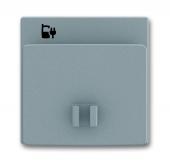 Плата центральная (накладка) 6478-803 для блока питания micro USB - 6474 U, Solo, серый металлик 6478-803