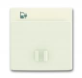 Плата центральная (накладка) 6478-896 для блока питания micro USB - 6474 U, Axcent, chalet-белый 6478-896