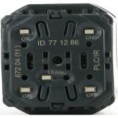 Celiane Выключатель двухканальный 2х1000Вт PLC/ИК с индикатором ,067204