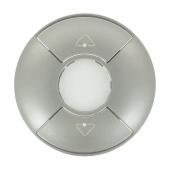Celiane Панель лицевая привода группового PLC/ИК титан ,068463