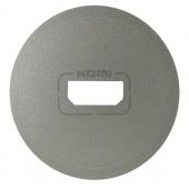 Celiane Лицевая панель розетки аудио/видое HDMI титан