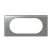 Celiane Рамка 4/5 модулей смальта металлик