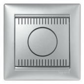 VALENA Светорегулятор поворотный 1000Вт алюминий