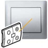 Galea Life Лицевая панель для светорегулятора алюминий ,771369