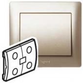 Galea Life Лицевая панель выключателя двойного титан IN ONE ,771491