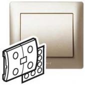 Galea Life Лицевая панель сценарного выключателя титан IN ONE ,771493