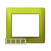 Galea Life Рамка 4 поста горизонтальная Magic Green