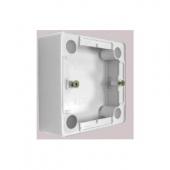 CARIVA Коробка 26 мм для наружного монтажа белая ,773696