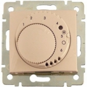 PRO21 Механизм термостата с датчиком температуры для кабеля 4 м бежевый