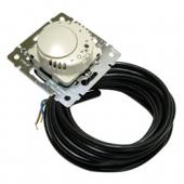 PRO21 Механизм термостата с датчиком температуры для кабеля 4 м белый