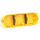 Batibox Коробка установочная 6мод 40мм ГИПРОК для вертикального/горизонтальнного монтажа ,80043