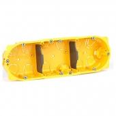 Batibox Коробка установочная 50мм ГИПРОК 3 поста ,080053