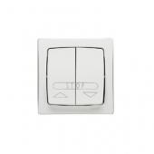 Oteo Выключатель кнопочный для рольставни 6А 250В