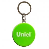 Фонарь-брелок светодиодный (UL-00004098) Uniel Standard Mini от батареек 47х40 S-KL022-T Green