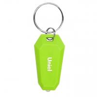 Фонарь-брелок светодиодный (UL-00004095) Uniel Standard Mini от батареек S-KL021-T Green