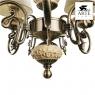 Подвесная люстра Arte Lamp Ivory A9070LM-5AB