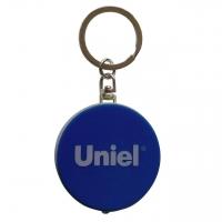 Фонарь-брелок светодиодный (UL-00004097) Uniel Standard Mini от батареек 47х40 S-KL022-T Blue